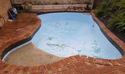 Bể bơi trước nâng cấp