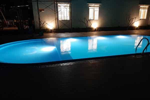 Bể bơi xây gạch tại Cửa Cạn - Phú Quốc