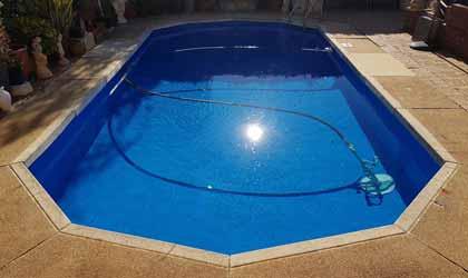 Hồ bơi sau nâng cấp