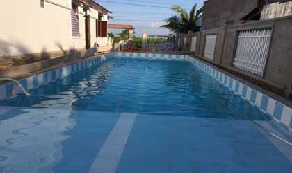 Nước hồ bơi sau xử lý