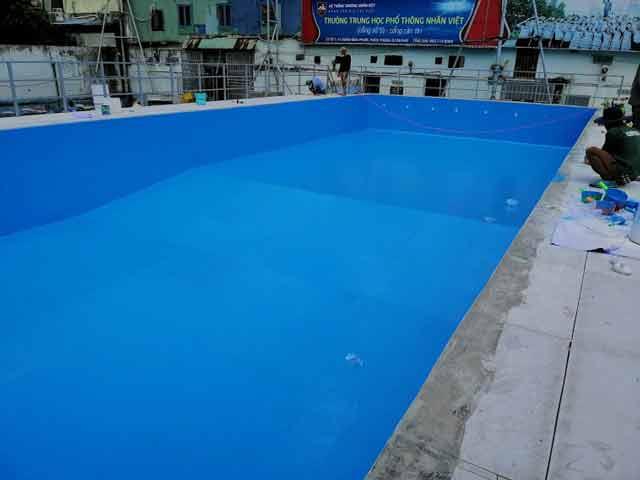 Sơn trang trí hồ bơi composite