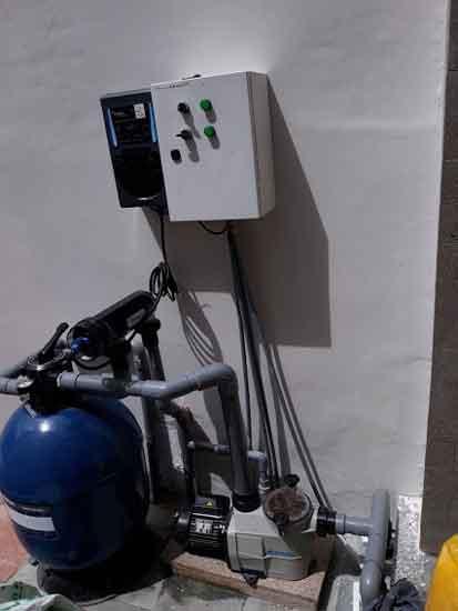 Hệ thống lọc điện phân