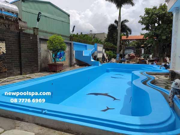 Nâng cấp hồ bơi tại Biên Hòa