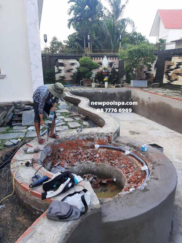 Sửa chữa bể bơi tại Biên Hòa