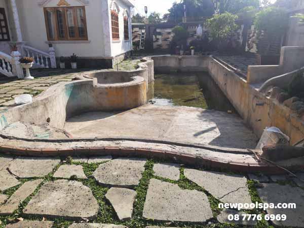 Sửa chữa hồ bơi tại Biên Hòa