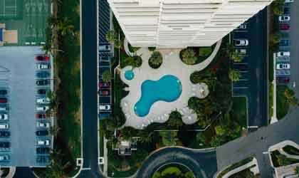 Bể bơi chung cư